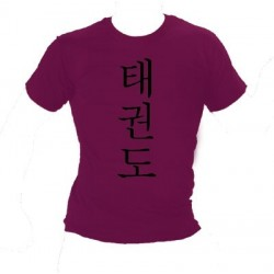 T-shirt Taekwando (Koreaans)