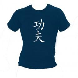 T-Shirt Kung Fu Kanji