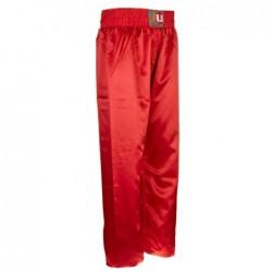 """Kickbox broek """"Uni"""" rood"""