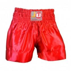 """Thaibox broek """"color"""" rood"""