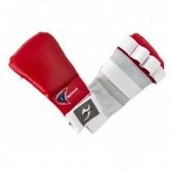 Ju-Jutsu handschoenen pro rood