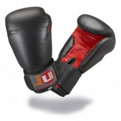 Bokshandschoenen zwart/rood