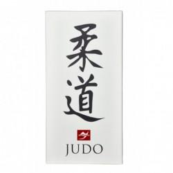 Wanddoek Judo Kanji, 80x40cm