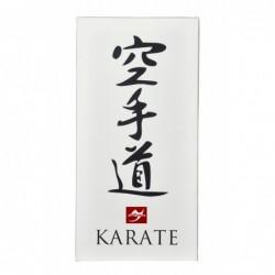 Wanddoek Karate Kanje, 80x40cm