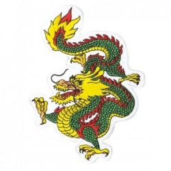 Patch Dragon groen
